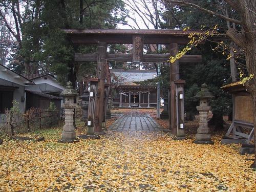 今日の諏方神社