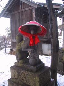 鶴ヶ城稲荷神社お稲荷さん