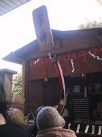 神明神社入り口の市神様です。