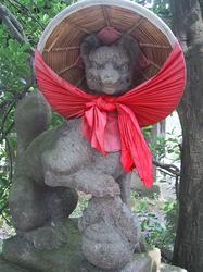 鶴ヶ城稲荷神社のお稲荷さん