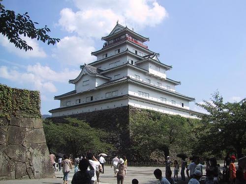 鶴ヶ城本丸