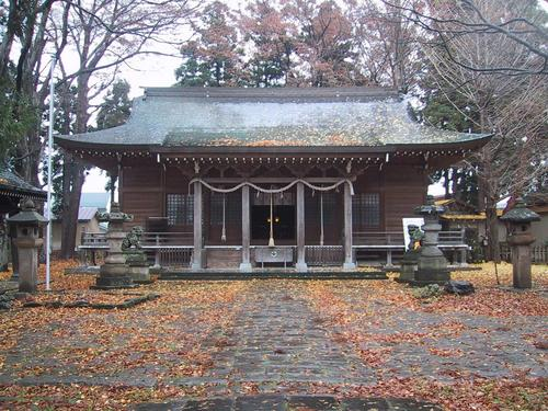 諏方神社 本殿