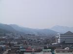 会津若松市内南側