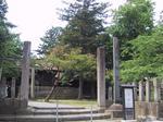 宗教法人 八角神社 北側