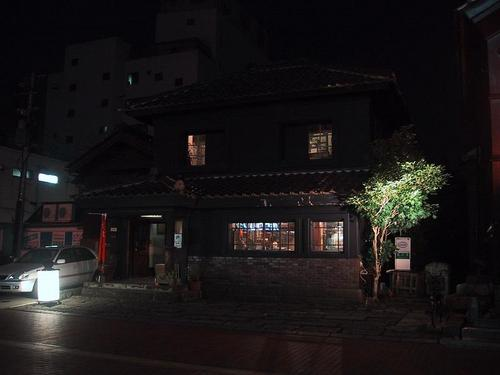 会陽医院跡、一階は喫茶店になっています