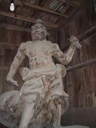 金剛力士の木造立像