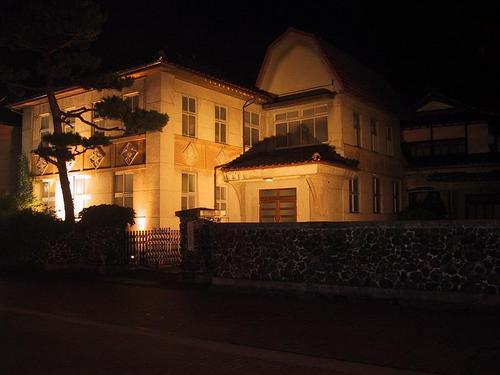 旧黒河内胃腸病医院 夜