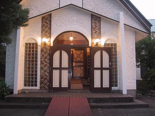 カトリック会津若松教会入口