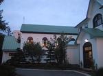 カトリック会津若松教会西側
