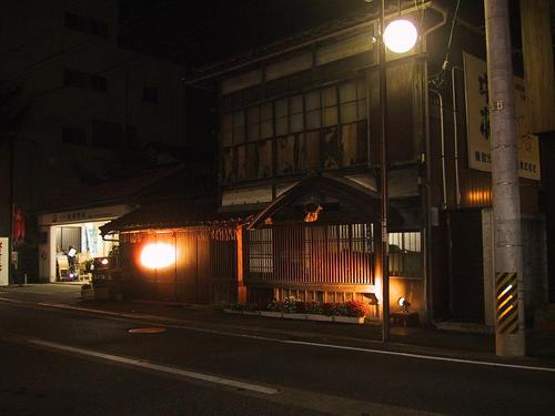 鶴乃江酒造 夜