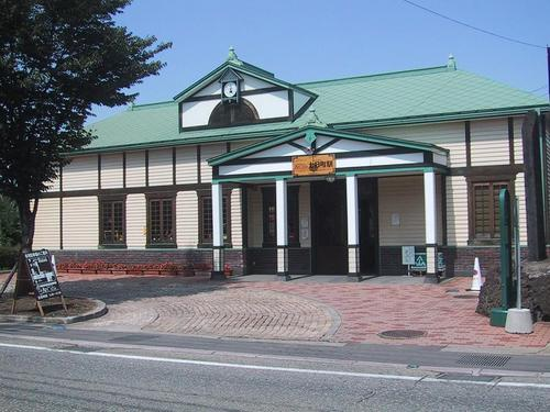 JR七日町駅舎内に開設している「駅カフェ」