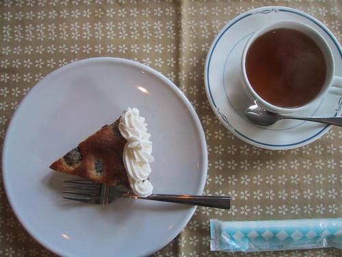 栗の渋皮煮タルト・9月の紅茶(テ ドゥ ルヌ)