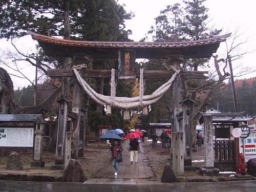 新宮熊野神社 大鳥居