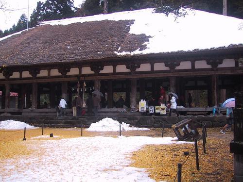 熊野神社 長床